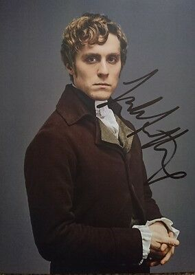 Jack Farthing Poldark signed 10x8 photograph AFTAL PROOF