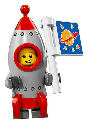 Lego Minifigures Series 17 - Rocket Boy 100% New(Factory Sealed)