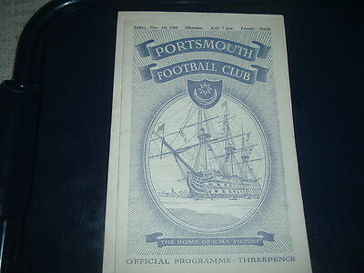 Portsmouth v Hibernian May 1960 friendly
