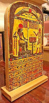 Scale Model Replica of the Stele of Revealing Aleister Crowley Thelema Magick