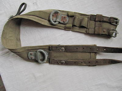 Vintage USSR.Ladder Escape Belt Atlas Safety Firefighter Lineman Fireman
