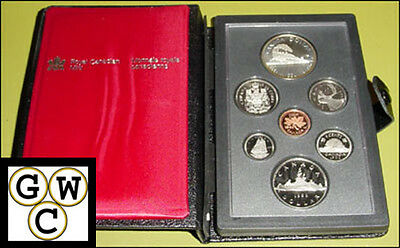 1986 Canada Proof Double Dollar Set (10122)