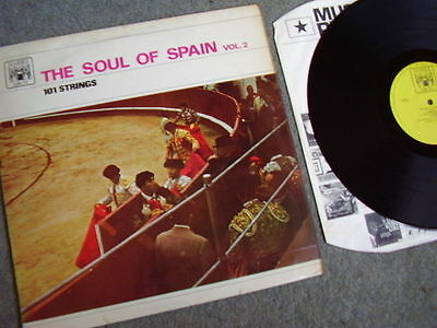 """101 STRINGS """"The Soul Of Spain"""" Vinyl LP record.Marble Arch"""
