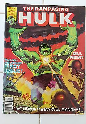The Rampaging Hulk (Marvel US) No.1, Jan 1977 – Fine Condition