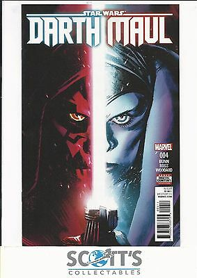 Star Wars Darth Maul   #4  New   (Bagged & Boarded)