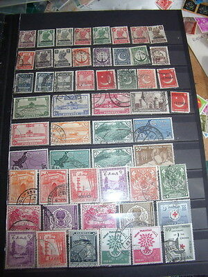 Pakistan Stamps Lot 1 X 144 Used Stamps - All Scanned Below The Written Descript