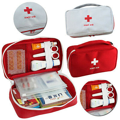 Travel First Aid Bag Medical Fisrt Aid Kit Outdoor Emergency Pouch 23x13x7.5cm
