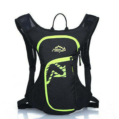 Latest Outdoor Hydration Pack Lightweight Running Backpack Wearproof Knapsack