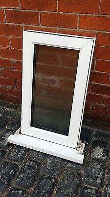 upvc double glazed window white pvc summerhouse mancave shed