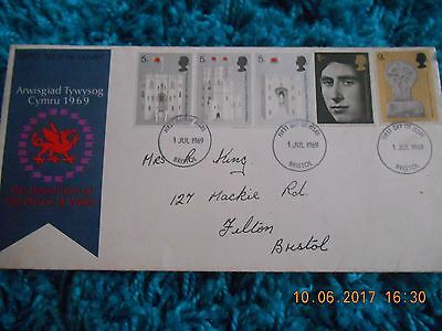 First Edition Stamps - 1969 - 1st Day Cover