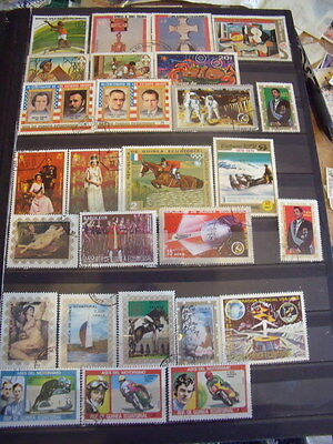 Guinea Various Stamps Lot 4 X 138 Cancelled With Gum Hinged / Few Used Stamps -