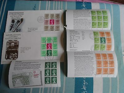 GB 2 fdc 4 pages booklet