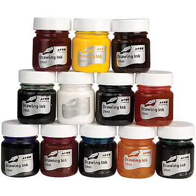 Brian Clegg Drawing Inks Assortment Set of 12- AK16