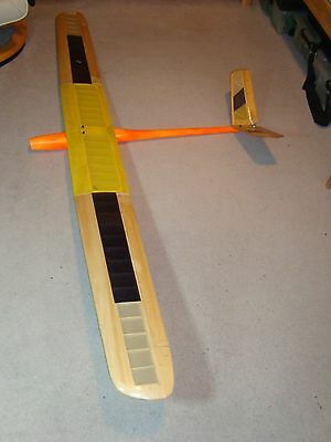 RADIO CONTROLLED ELECTRIC MODEL GLIDER 2.18 Mtr wing span