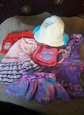 build a bear clithes and accessories bundle