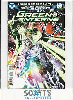 Green Lanterns   #25  New   (Bagged & Boarded)