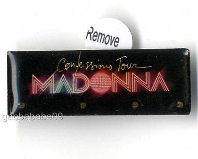 Madonna - Confessions Tour 2006 Official Blinkie Badge New Unused