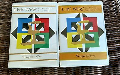 The Way Of Traditional Taekwondo Songahm One & Two DVD Lot