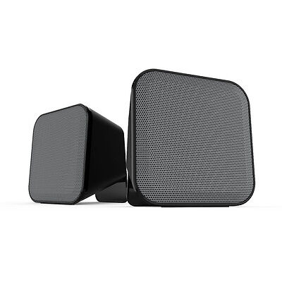SPEEDLINK Snappy Compact USB-Powered Active Stereo Speakers Black/Grey