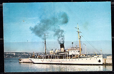 """C.S.S. """"ACADIA"""", First Northern Survey Vessel, Canadian Hydrographic Service"""