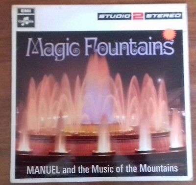 Magic Fountains Manuel and the music of the Mountains  12 inch     LP