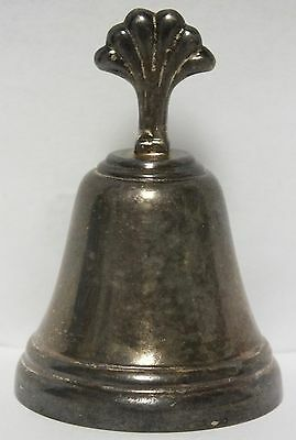 Antique Argenteria Peruana Sterling Silver .925 Dinner Bell - JX453