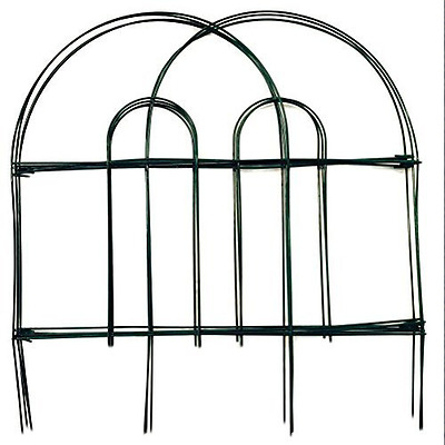 Amagabeli 18-Inch by 10-Foot x 5 Packs Dark Green Garden Fencing Folding Fence W