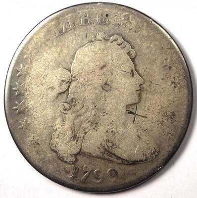 1799 Draped Bust Silver Dollar $1 - Rare Type Coin!