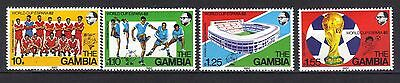 Gambia . World Cup Spain Mnh 1982