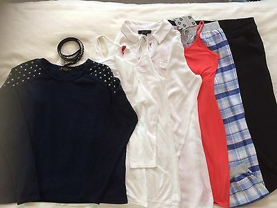 Bundle of 8 items of ladies clothing size 10-12