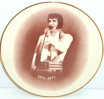Elvis Presley Memorial Plate We Will Remember Collector Limited Edition 5000
