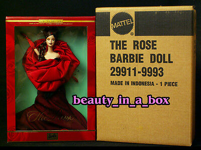 The Regal ROSE - Flowers in Fashion Barbie Doll in Mattel SHIPPER DB