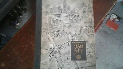 REDUCED!! 1958 National Geographic Atlas  Rare & Unique Item