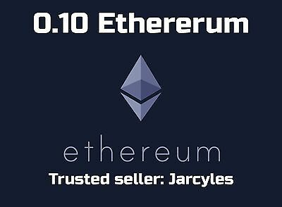 0.10 ETHEREUM. Paid into your wallet, Invest now while the coin is rising!