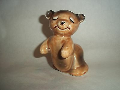 Vtg. Single Van Telengen Salt-Pepper Shaker - Bear Hug  #SP04