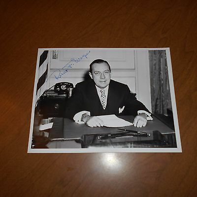 Robert F Wagner I was an American politician Hand Signed Photo Senator from NY