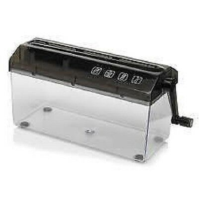 Manual Paper Strip Cut Paper Shredder With Waste Holder New