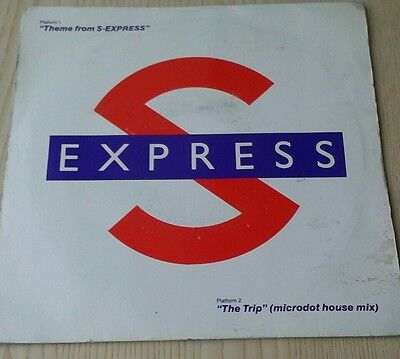 S express - Theme from S express - 7 inch single.