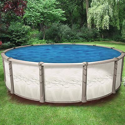 """Above Ground Round 54"""" Tall CREATION Resin Swimming Pool w/ Liner (Choose Size)"""