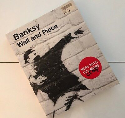 BANKSY Book Art Artist Graffiti Photography Wall and Piece Paperback