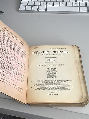 Officers Infantry Training 1914 Manual