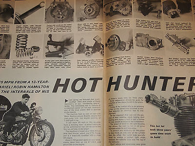 Rare ARIEL 350 500 SINGLE VH RED HUNTER ENGINE TUNING GUIDE/PROFILE RARE!