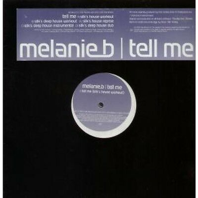 "MELANIE B Tell Me DOUBLE 12"" MAXI VINYL European Virgin 5 Track Double Promo"