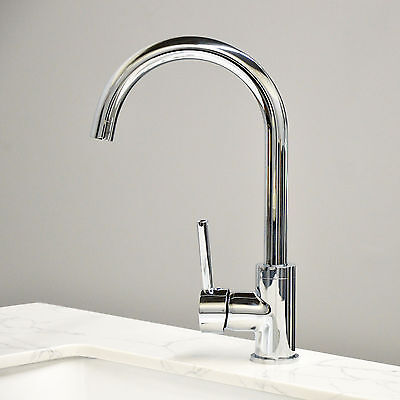 NEW Modern Chrome Brass Kitchen/Bathroom Faucet  Single Handle Sink Mixer Tap