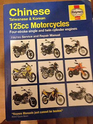 Haynes Chinese Taiwanese Korean 125 Motorcycle Manual