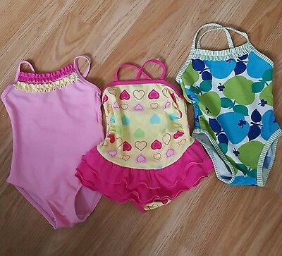 Baby girls swimming costumes 3-12 months