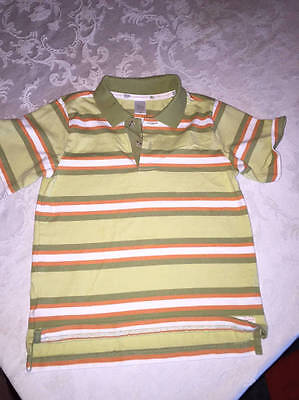 Boys Clothes Janie and Jack Forever Friends Striped Short Sleeve Polo Shirt 4T