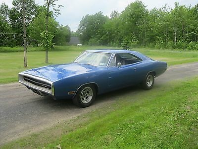 1970 Dodge Charger  1970 DODGE CHARGER BIG BLOCK 4-SPEED 64473 MILES