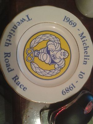 Michelin 20th Road Race 1989.Commemorative Plate.