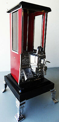Penny Masters Gum Machine Circa 1930's with Stand